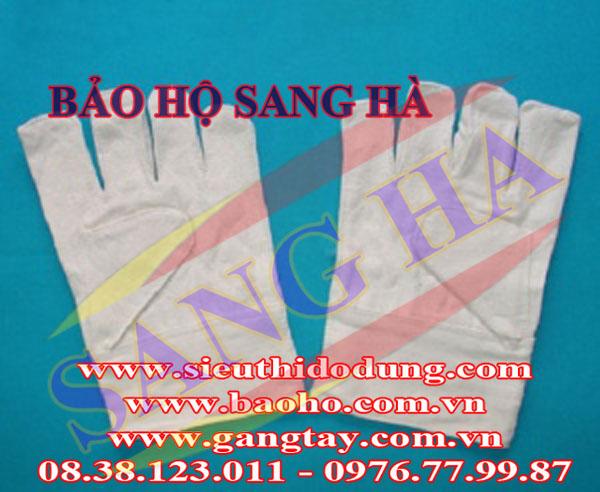 Găng tay vải bạt mỏng Sang Hà 7