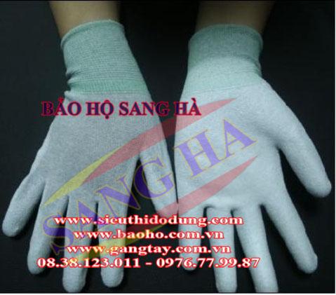 Găng tay phủ PU lòng bàn tay SH