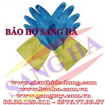 Găng tay chống dầu chống hóa chất neoprren G553